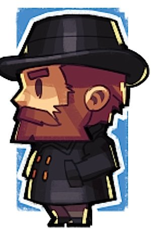 Markus Pergusson als Minecraft-Figurauf der Mojang-Homepage.