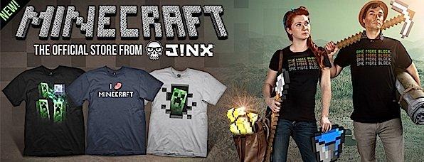 Minecraft rockt: das Spiel hat unzählige Fans. Und Merchandiseartikel für die Community gibt es auch.