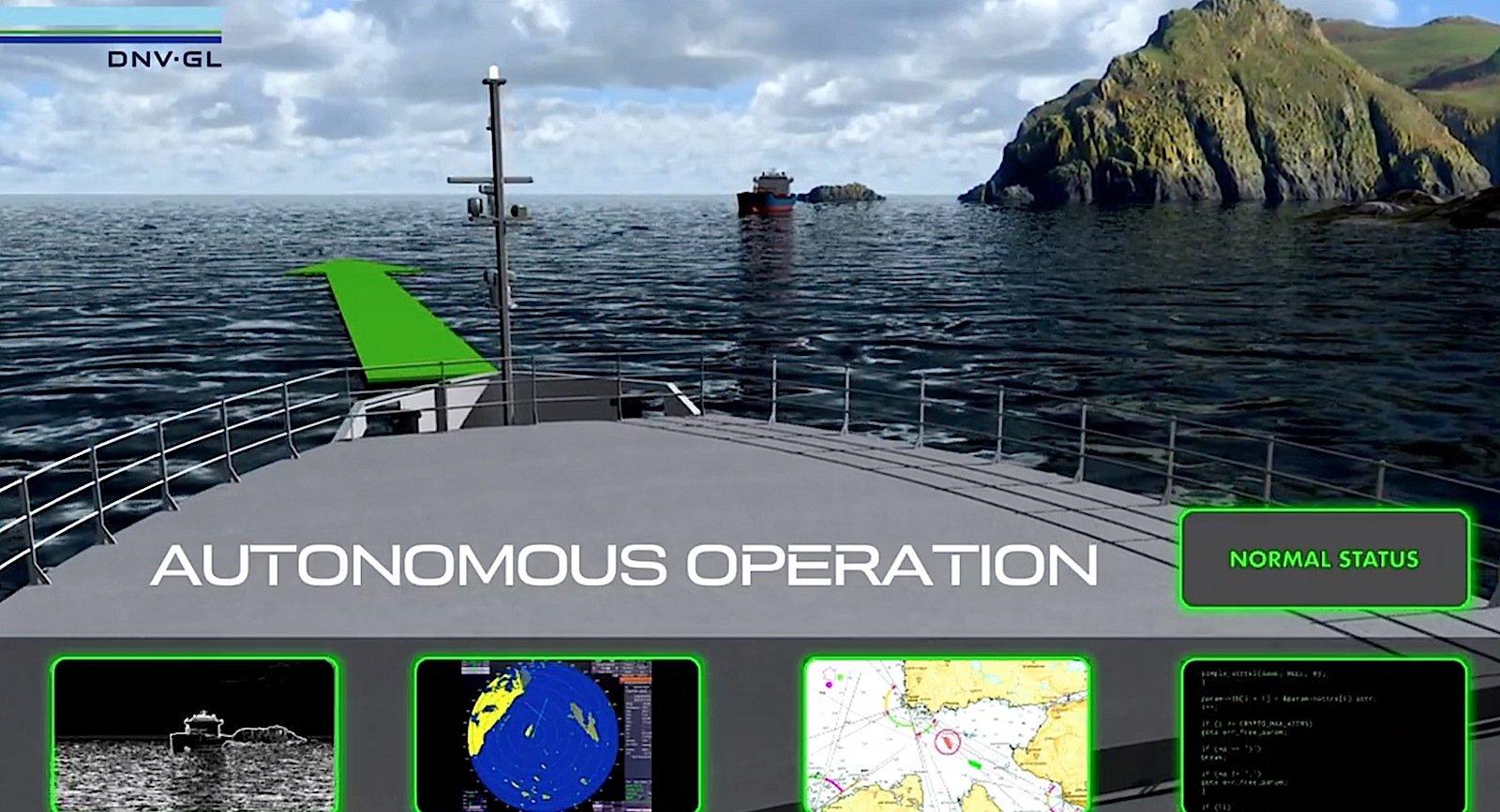 Künftig soll ein Computerkapitän das Schiff steuern.