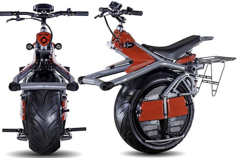 Die Ryno-Bikes sind 16 km/h schnell und fahren mit einer Akkuladung eine Stunde lang. Ende 2014 kommen sie für 4100 Euro auf den Markt.