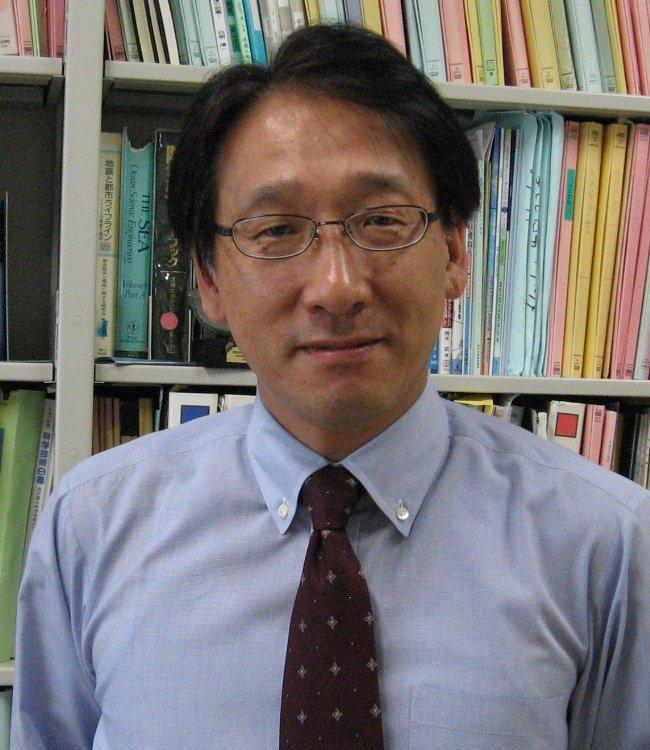 Professsor Fumihiko Imamura von der Universität Tohoku.