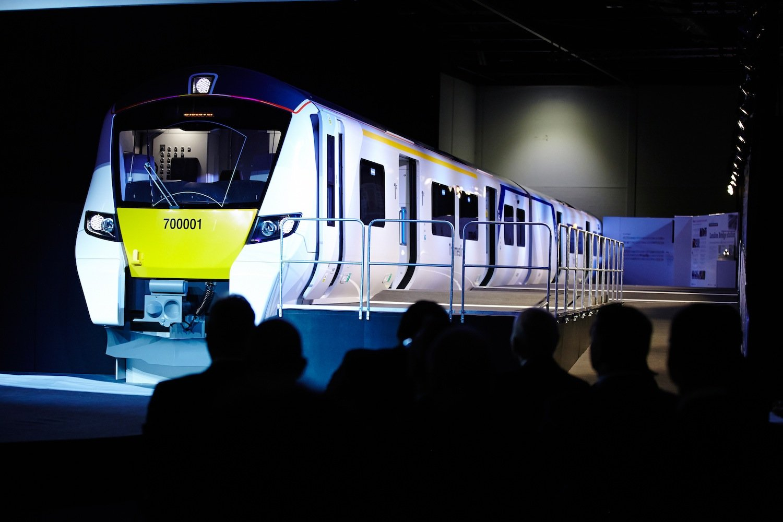 Siemens zeigt auf der Messe den Desiro-City-Zug: Die elektrischen Triebzüge fahren auf der neugebauten Thameslink-Strecke in London.