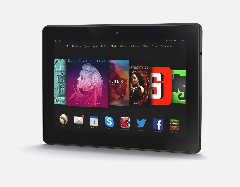 Amazon hat seinem Tablet Fire HDX 8.9 eine neue Lichtsteuerung verpasst.