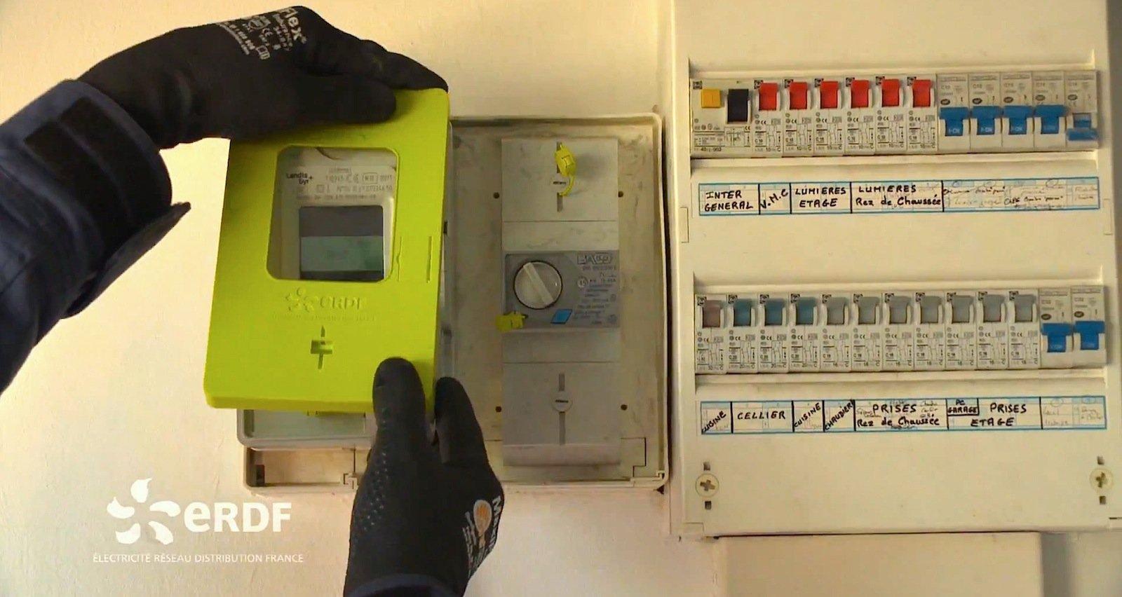 Der Stromzähler Linky ist mit dem Internet verbunden. Dadurch können die Versorger den Strompreis je nach Angebot und Nachfrage anpassen und die Verbraucher ihren Stromverbrauch regulieren.