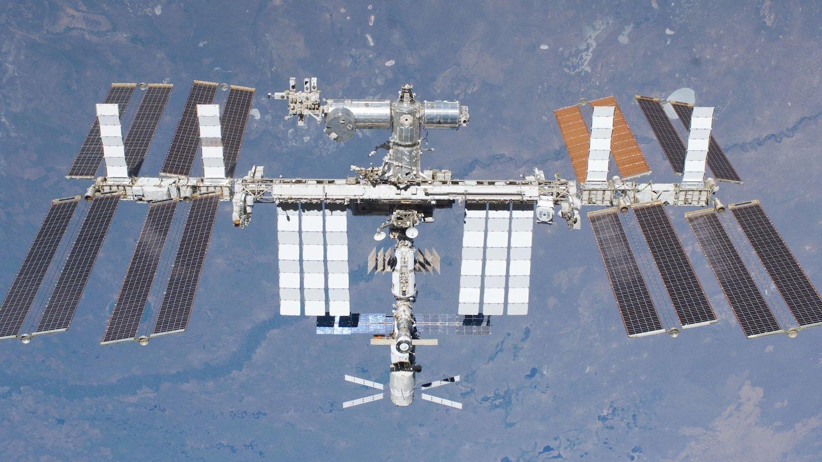 Am oberen Nutzlast-Platz der S3-Struktur bleibt AMS mindestens bis ins Jahr 2020 an der ISS.