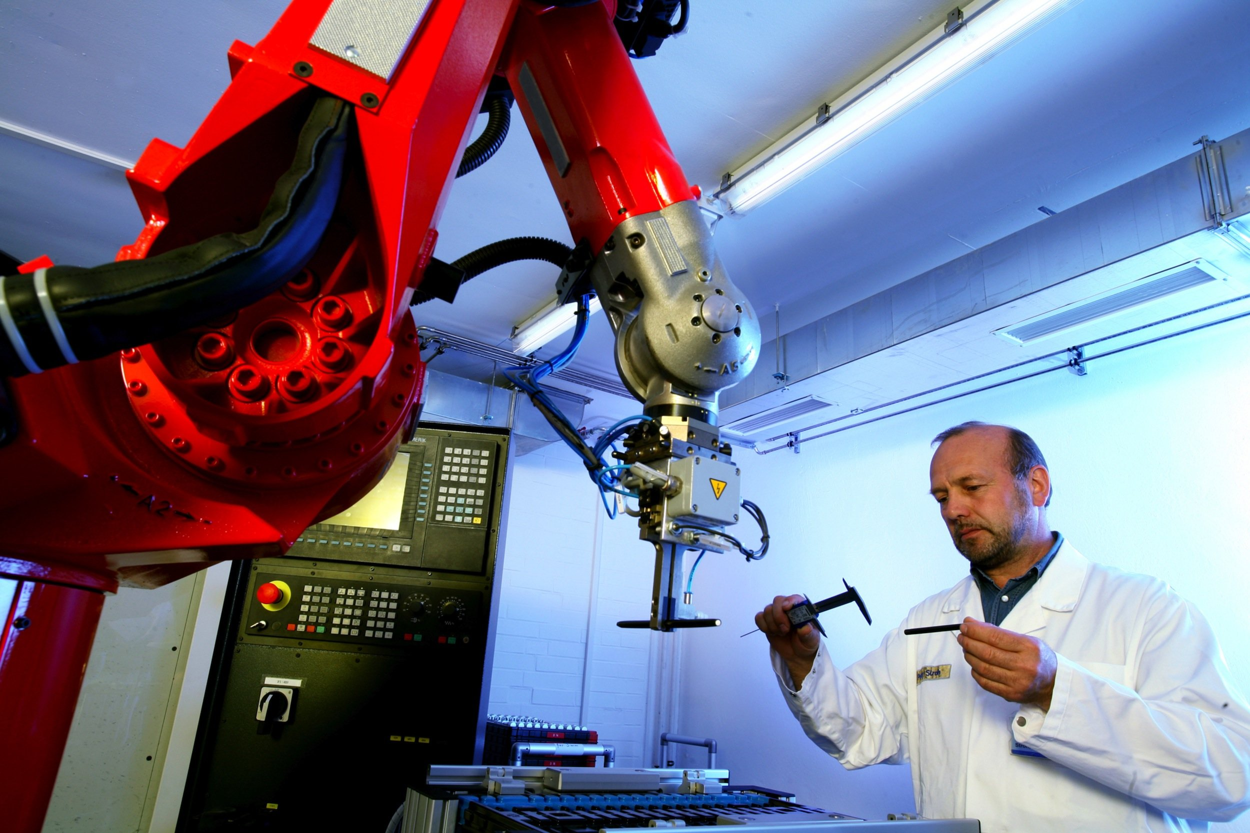 Produktion von Chromolith-Säulen bei Merck in Darmstadt: Der Konzern übernimmt für17 Milliarden Dollar den Pharmakonzern Merck den US-Laborausrüster Sigma-Aldrich.