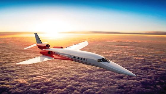 Das gemeinsame Projekt von Airbus und Aerion: das Überschall-Flugzeug Aerion AS2. Bis 2019 soll die Maschine fertig gebaut sein, die maximal 1,6 Mach erreicht.