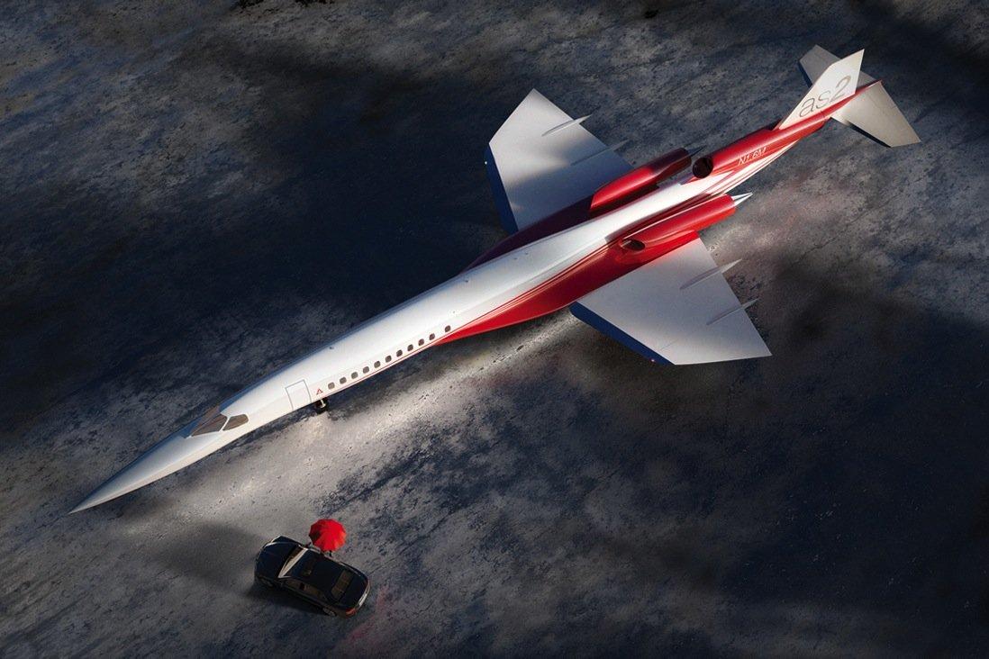 Den speziellen Laminar-Flügel des Überschallfliegers hat sich Aerion bereits patentieren lassen. Er ist so konstruiert, dass er kaum Turbulenzen erzeugt.