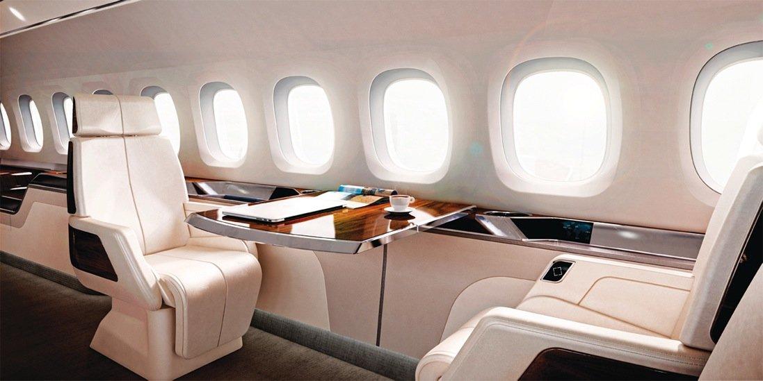 Der superschnelle Businessjet Aerion AS2 bietet Platz für zwölf Geschäftsreisende.