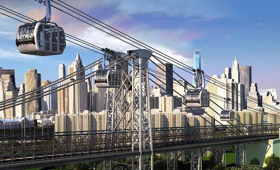 Daniel Levy, Geschäftsführer der Immobilienfirma CityRealty, hat den Vorschlag für die Seilbahn gemacht. Sie könnte mehr als 5000 Menschen pro Stunde über den Eastriver bringen.