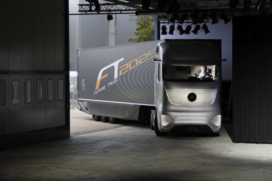 mercedes-benz enthüllt design des future trucks 2025 - ingenieur.de