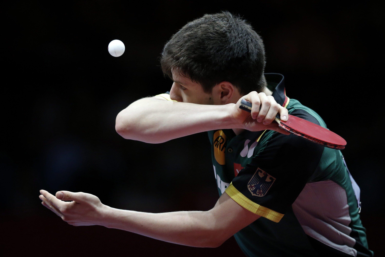 Auch der deutsche Nationalspieler Dimitrij Ovtcharov kämpft gerade bei der Tischtennis-EM in Lissabon – allerdings ohne den klassischen Ball aus Zelluloid.