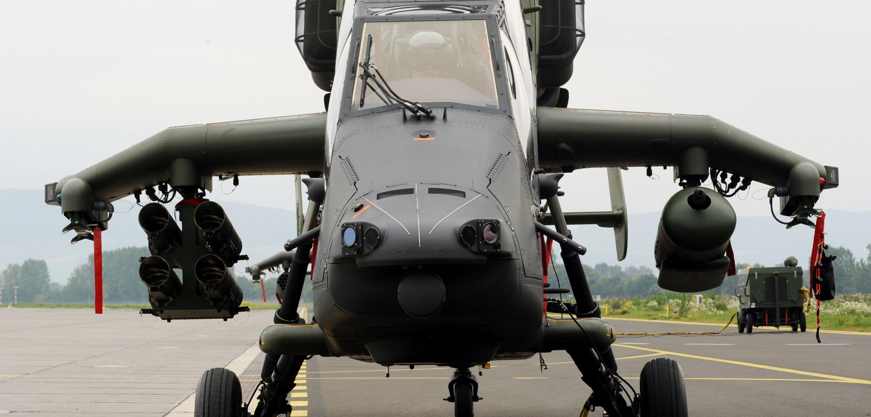 Kampfhubschrauber Tiger: Von 331 Exemplaren bei der Bundeswehr sind derzeit nur zehn für den sofortigen Notfall gerüstet.