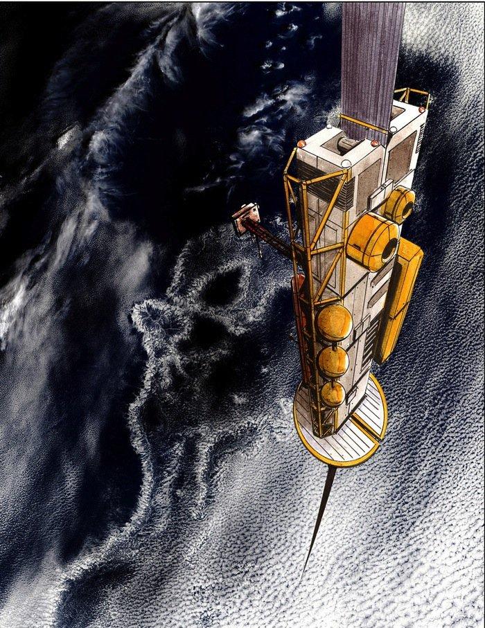 Bereits seit zehn Jahren will Michael J. Laine die Idee vom Weltraumaufzug wahr werden lassen. Doch 2007 ging seiner Firma das Geld aus. Jetzt will über Crowdfunding sein Großprojekt in einzelne Schritte unterteilen und finanzieren.