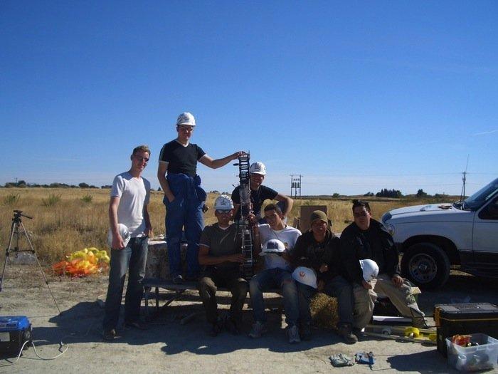 Glauben an den Erfolg ihres Projektes: Mitarbeiter des LiftPort-Teams.