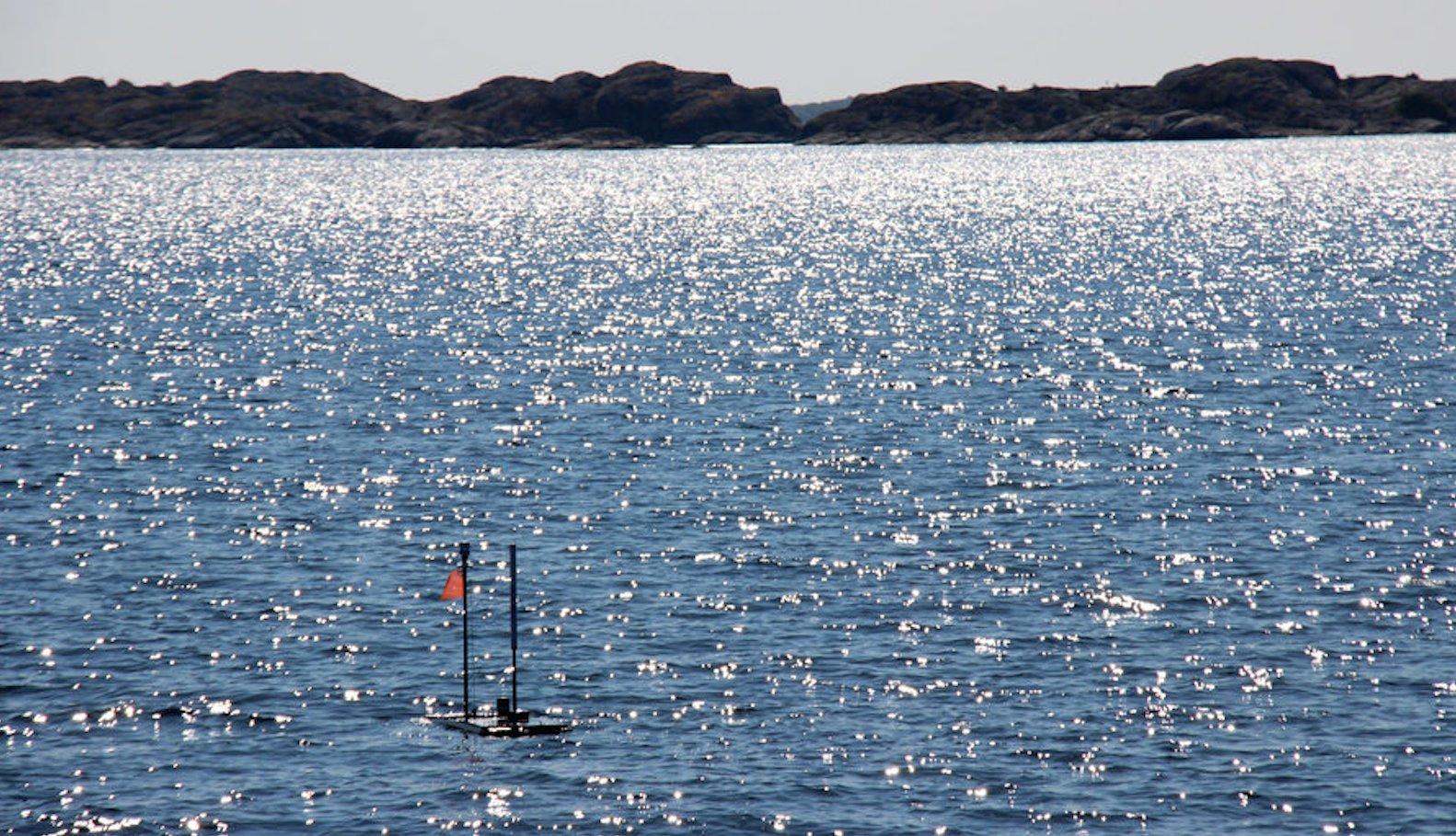 Hightech kompakt: Der Wave-Glider ersetzt ein Forschungsschiff.