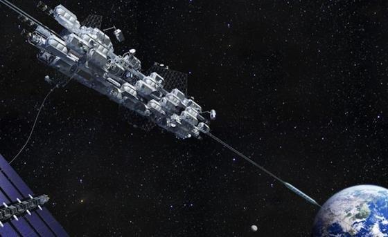 Mit dem Aufzug in den Weltraum: Was wie Science Fiction klingt, soll durchaus Wirklichkeit werden. In Japan arbeiten Unternehmen und Universitäten an derartigen Plänen. Weniger als 40 Jahre soll es dauern, bis die Reise zum Mond per Lift möglich ist.
