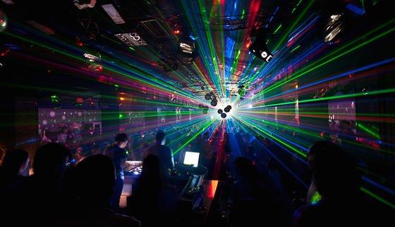 Laser-Show: Sieht schön aus, ist aber für die Wissenschaft irrelevant.