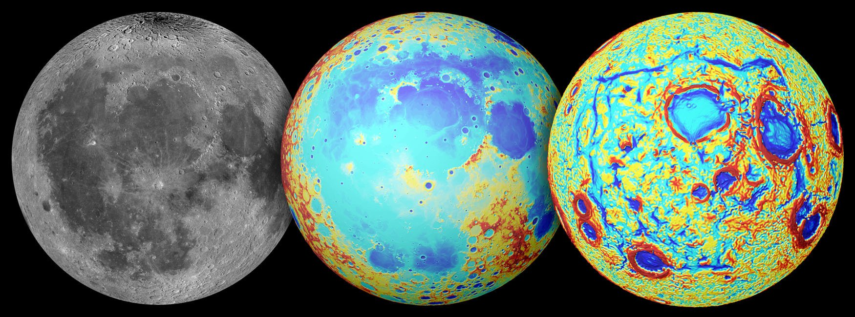 Rechteckige Strukturen auf dem Mond deuten auf Vulkanismus hin.