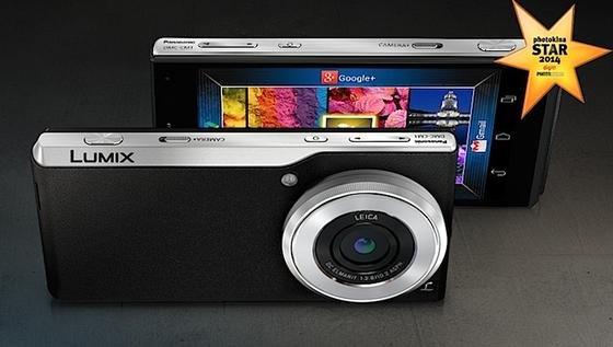 Geht den umgekehrten Weg: Panasonic bietet jetzt eine Hochleistungskamera an, mit der man gleichzeitig auch telefonieren kann.
