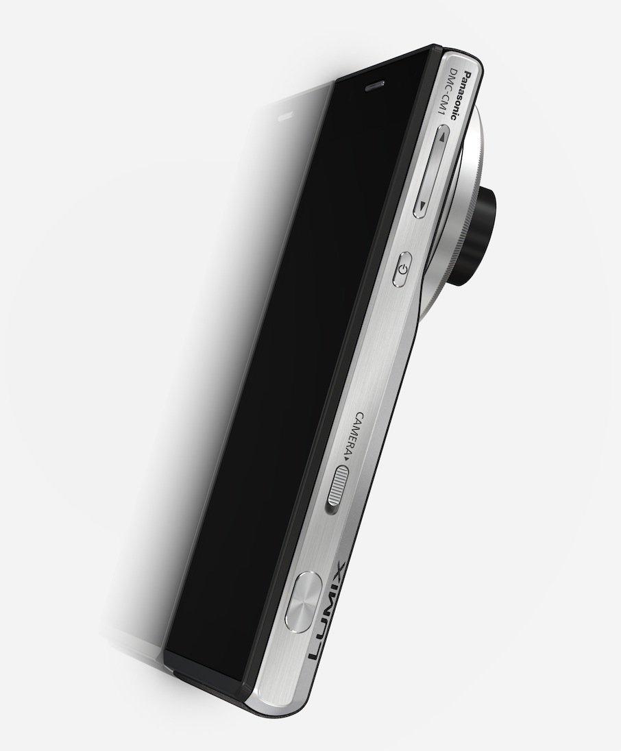 Mit einer Gehäusedicke von 21 Millimetern ist die Lumix CM1 zwar dreimal dicker als die dünnsten am Markt erhältlichen Smartphones, dafür schafft sie aber eine Auflösung von 20 Megapixeln.