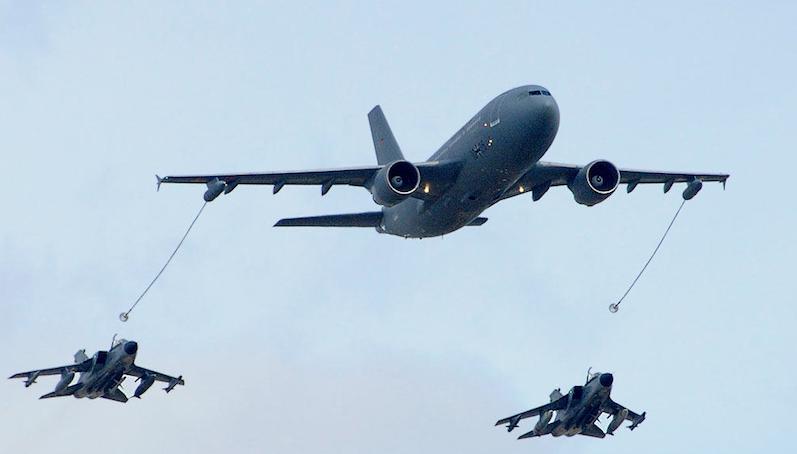 Die Luftwaffe wird auf der ILA unter anderem auch die Luftbetankung von Tornados durch die A310 MRTT präsentieren.