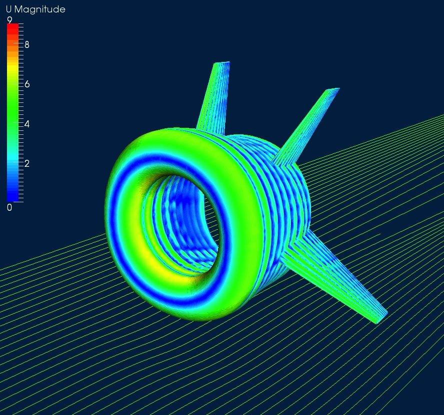Die Windturbine kann bis zu einer Windgeschwindigkeit von 160 Stundenkilometer sicher betrieben werden und wird von der Bodenstation automatisch optimal positioniert.