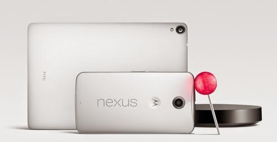 Google hat gleich drei Pfeile im Köcher: Das Smartphone Nexus 6, das Tablet Nexus 9 und das Betriebssystem Android Lollipop, das den Wechsel zwischen den Geräten vereinfachen soll.