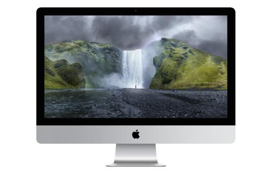 Der 27 Zoll große Retina-Bildschirm des neuen iMacs erlaubt eine Auflösung von5120 x 2880 Pixeln. Kostenpunkt in Deutschland: 2599 Euro.