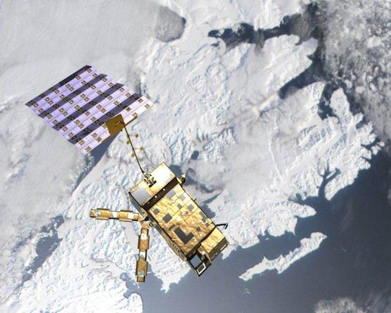 Die MetOp-Satelliten liefern unter anderem Informationen über Ozongehalt, Windgeschwindigkeiten über dem Meer, Schneedecken und Niederschlag.