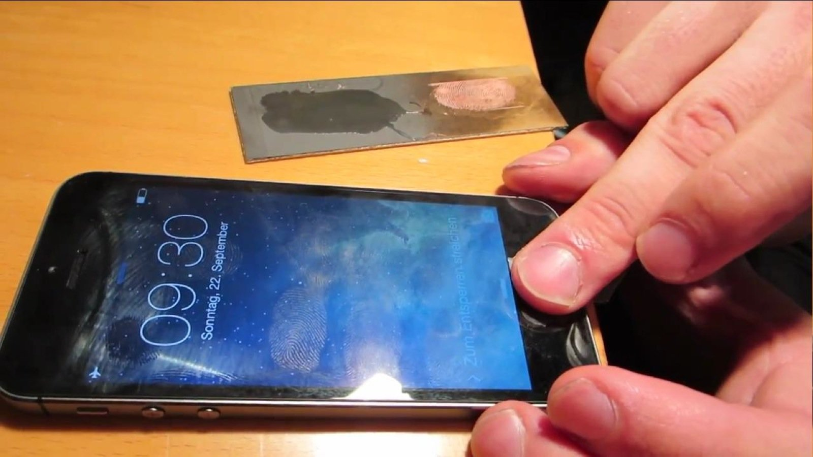Der Fingerscanner des iPhone-5s wurde bereits überlistet.