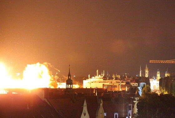 2012 wurde in München eine Fliegerbombe nach erfolglosen Entschärfungsversuchen gesprengt. Der Blindgänger wog 250 Kilogramm.