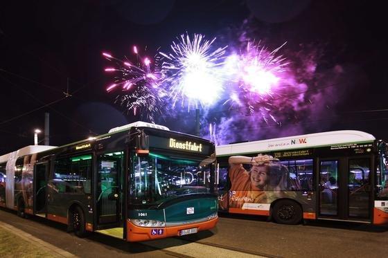 Die Busse in Bochum und Gelsenkirchen verbrauchen pro Jahr Sprit im Wert von 8,5 Millionen Euro. Durch wirtschaftliche Fahrweise lassen sich 600.000 Euro einsparen.