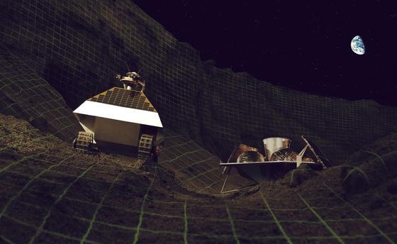 Auch der Rover Polaris soll zum Mond aufbrechen. Anders als sein Gefährte Andy soll er allerdings nicht 3D-Bilder für Mondfans liefern, sondern für die NASA nach Wasser suchen.