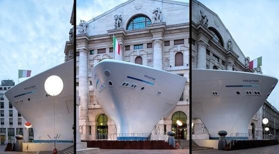 Die italienische Werftgruppe Fincantieri unterstützt China mit Technik.