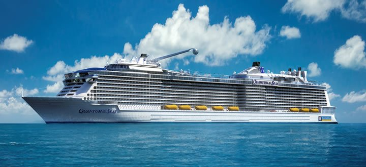 Viel Hightech an Bord hat das Kreuzfahrtschiff Quantum of the Seas zu bieten.