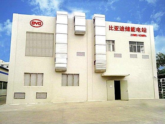 Zehn Monate brauchte BYD, um Speicher und Gebäude in Hongkong zu bauen.