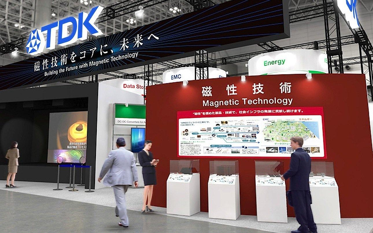 TDK-Präsentation auf der Ceatec Messe in Tokio: TDK entwickelt einen MRAM-Speicher mit siebenfacher Lese- und Schreibgeschwindigkeit.