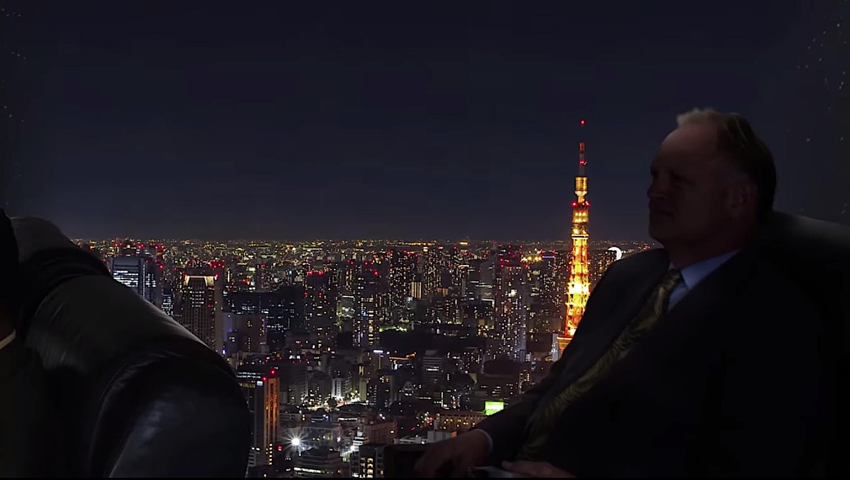 Spektakulär wäre auch der Flug bei Nacht, beispielsweise über eine beleuchtete Stadt.