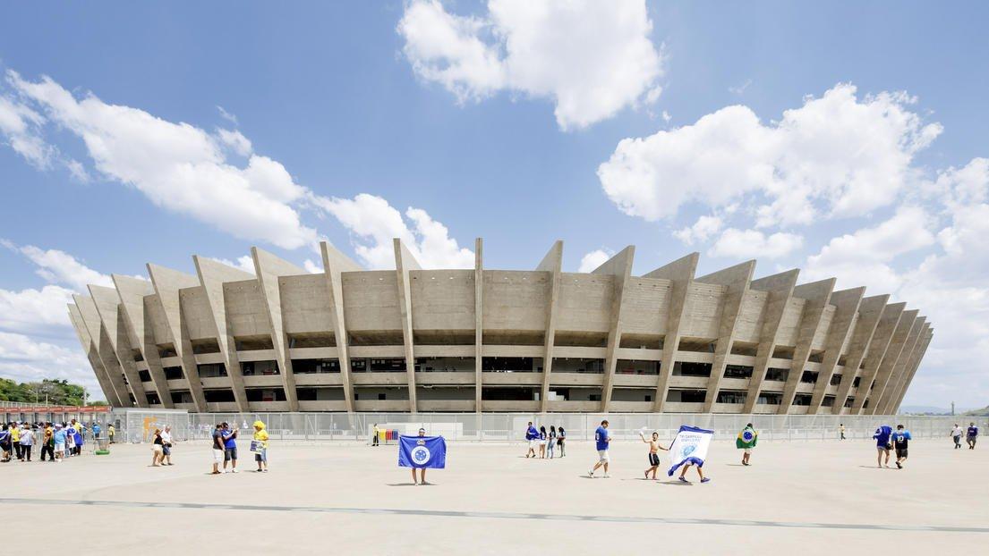 Im Stadion von Bela Horizonte werden sechs WM-Partien ausgetragen, einschließlich einer Halbfinalpaarung.