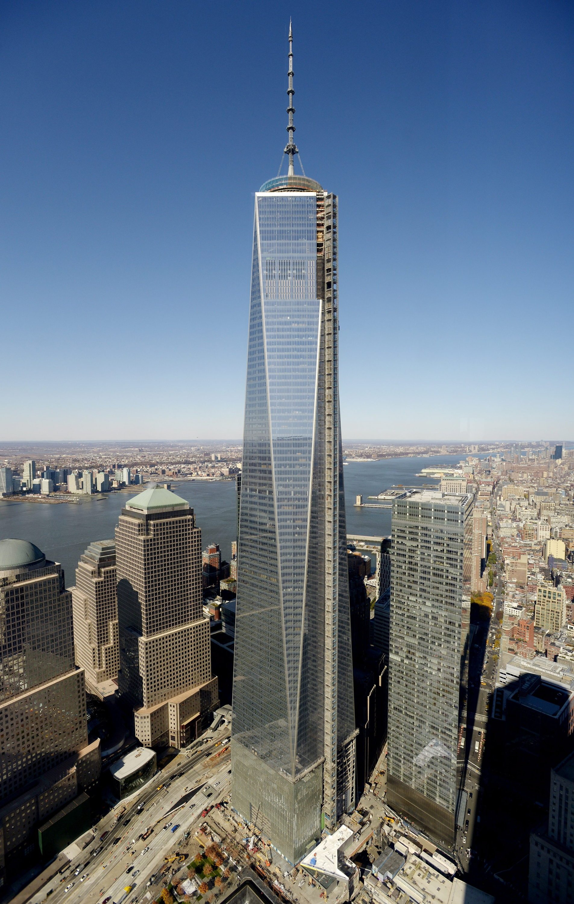 One World Trade Center Am Ground Zero Er 246 Ffnet Ingenieur De