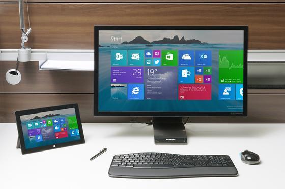 Den größten Zuwachs verbuchte im Oktober Windows 8.1, das es nun auf einen Marktanteil von knapp 16,8 Prozent bringt, gemeinsam mit Windows 8, der Vorgängerversion.