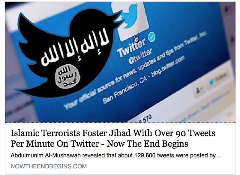 Die Terror-Organisation ISIS nutzt Twitter, um über ihre Gräueltaten zu berichten.