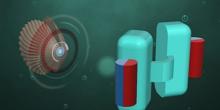 Mikroroboter in Muschelform schwimmt durch den menschlichen Körper