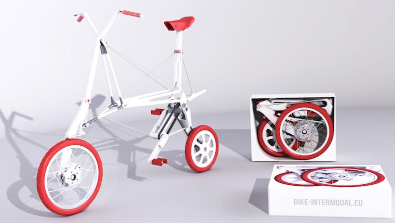 Das günstigste Modell des Bike Intermodals soll 500 Euro kosten. Ein Elektromotor lässt den Preis auf rund 1300 Euro steigen.
