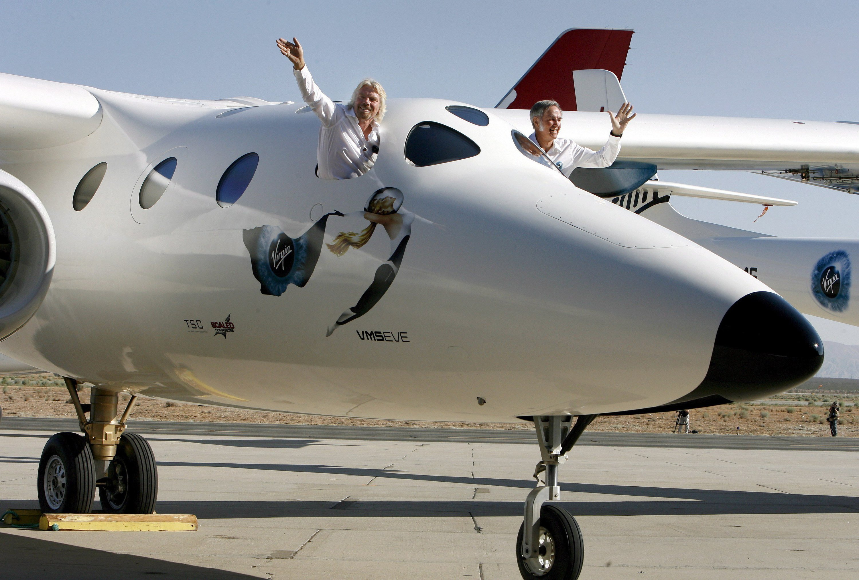 Rückschlag erlitten: Das Raumflugzeug SpaceShipTwo ist vor wenigen Tagen bei einem Testflug abgestürzt. Ein herber Rückschlag für das Unternehmen VirginGalactic, an dem Abu Dhabi mit 37 Prozent beteiligt ist.