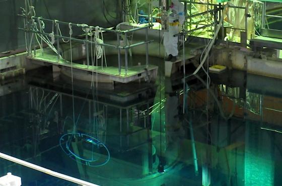 Fukushima-Reaktor 4: Tepco ist es gelungen, alle1331 abgebrannten Brennelemente zu bergen.