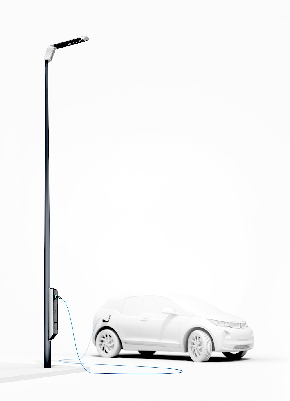 Das BMW-Konzept Light and Charge.