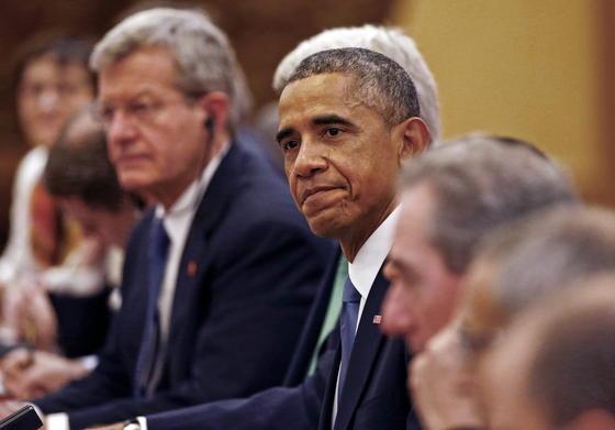 """US-Präsident Barack Obama und der chinesische Staatschef Xi Jinping haben Klimaschutzziele verkündet: Obama will CO<custom name=""""sub"""">2</custom>-Emissionen bis 2025 um bis zu 28 Prozent reduzieren. Jinping will die Emissionen ab 2030 stabil halten."""