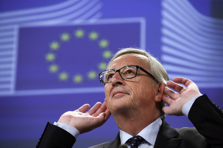 """Wollte offenbar eine Woche lang von den Luxembourg Leaks lieber nichts hören bzw. sagen: """"Das war ohne Zweifel ein Fehler"""", sagte EU-Kommissionspräsident Jean-Claude Juncker gestern in Brüssel auf der Pressekonferenz."""